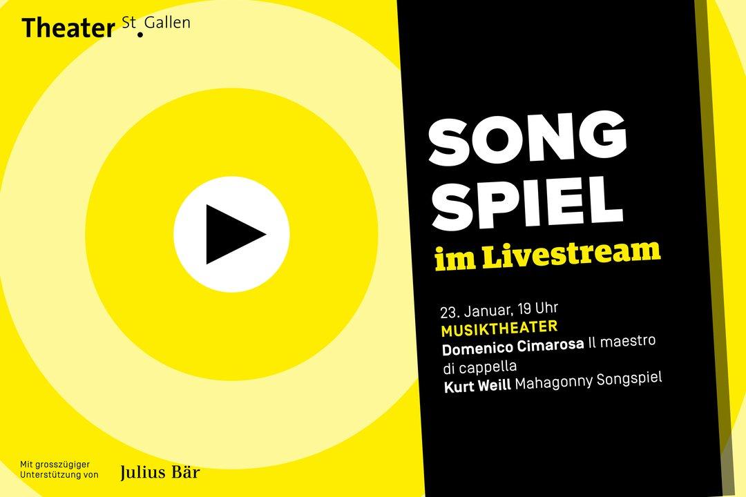Livestreams | Theater St.Gallen